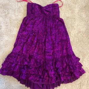 Betsey Johnson Strapless Cocktail Dress